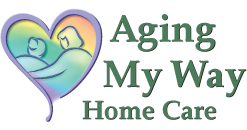 Aging My Way Home Care Logo